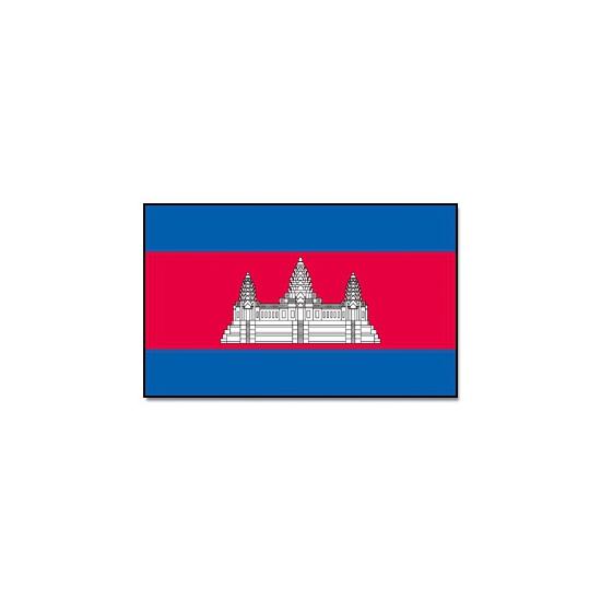 Landen versiering en vlaggen Geen Vlag Cambodja 90 x 150 cm
