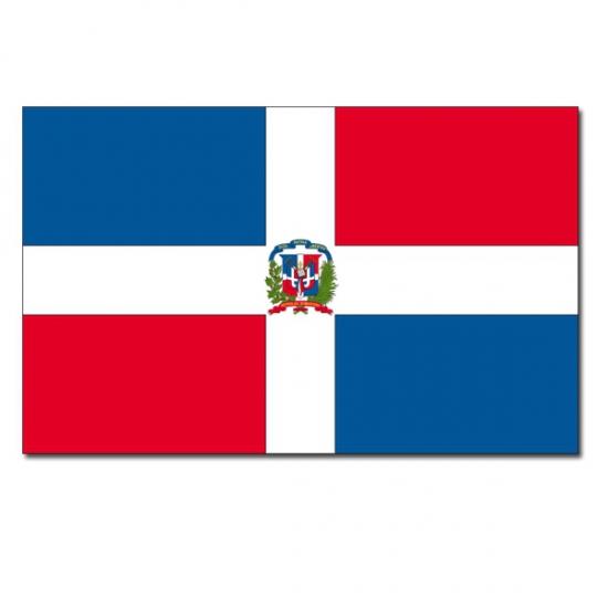 Landen versiering en vlaggen Geen Vlag Dominicaanse Republiek 90 x 150 cm
