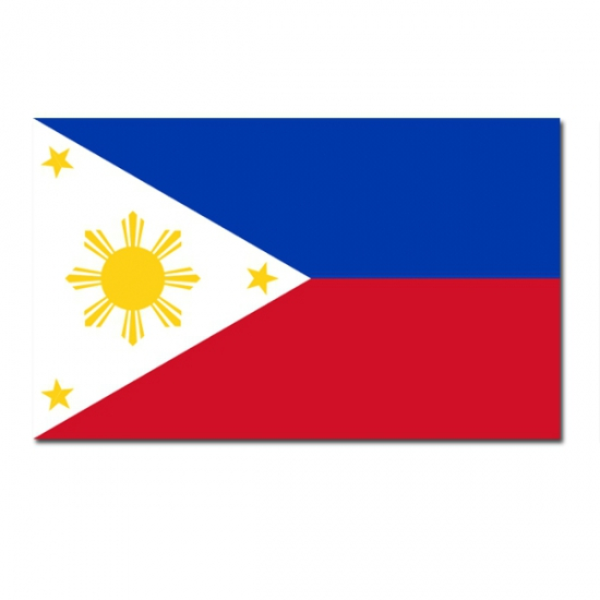 Landen versiering en vlaggen Vlag Filipijnen 90 x 150 cm