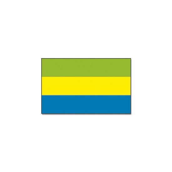 Landen versiering en vlaggen Geen Vlag Gabon 90 x 150 cm