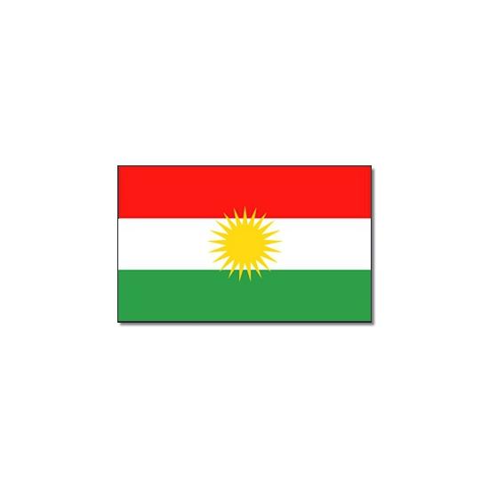 Vlag Koerdistan 90 x 150 cm Geen beste
