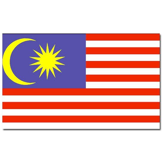 Geen Vlag Maleisie 90 x 150 cm Landen versiering en vlaggen