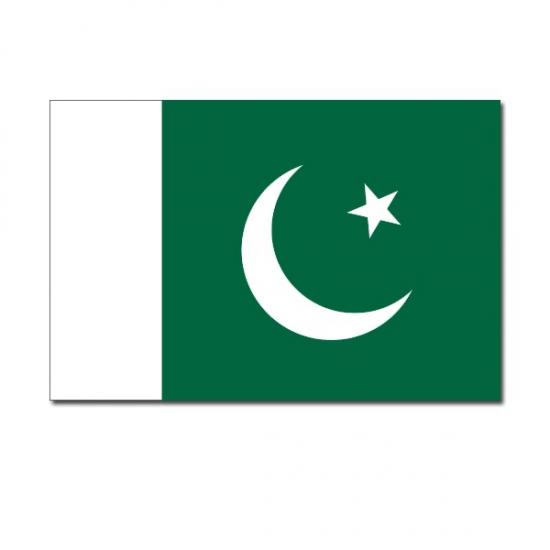 Landen versiering en vlaggen Geen Vlag Pakistan 90 x 150 cm