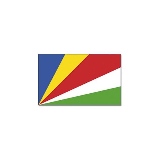 Geen Vlag Seychellen 90 x 150 Landen versiering en vlaggen