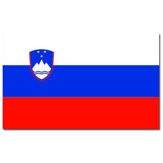 Vlag Slovenie 90 x 150 cm Geen gaafste producten