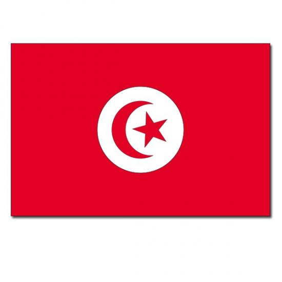 Vlag Tunesie 90 x 150 cm Geen Beste kwaliteit