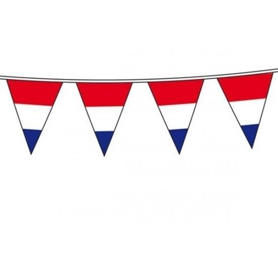 Vlaggenlijn Holland rood wit blauw 10 meter Geen Koopje