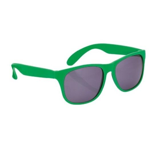 Voordelige groene zonnebril
