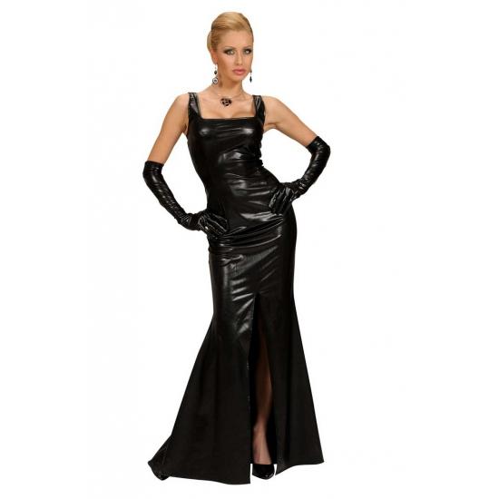 Zwarte cocktail jurk